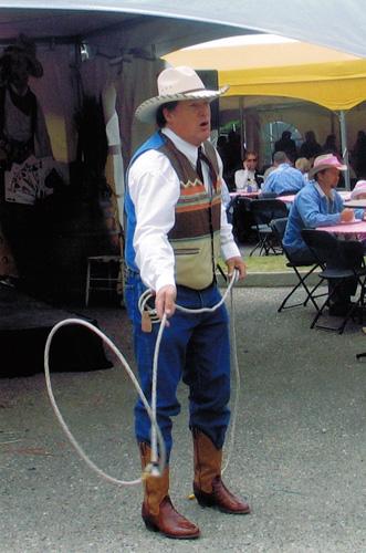 Bud Edgar Comedy Cowboy Calgary Ab Canada